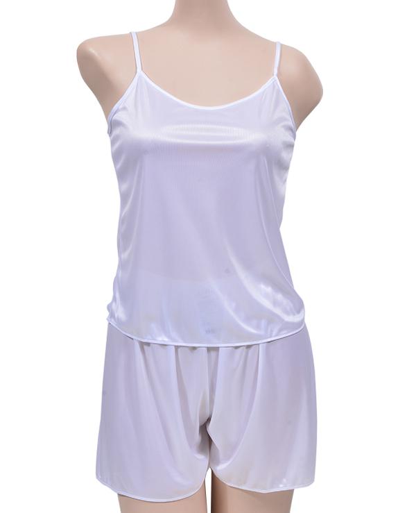 (크리비아)(ST5302)부드럽고 가벼운 착용감 기본형 여성용 슬립 상하세트