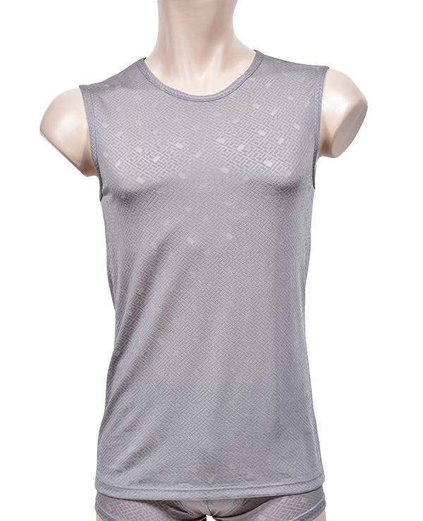 (보신각)(275)청량감이 좋은 인견소재 착용감이 편안한 남성머슬 티셔츠